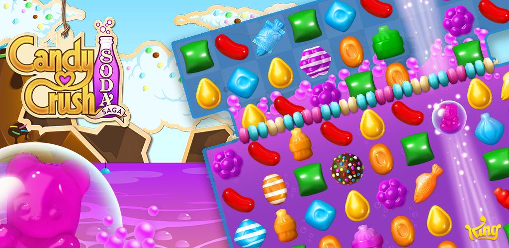 Candy Crush Soda Saga spielen | cybertime.ru